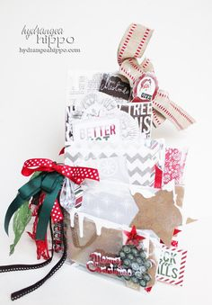 Gorgeous!!!!!!! A Very Merry Christmas Mini Book  ASSEMBLED and by hydrangeahippo, $75.00