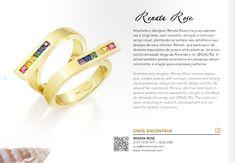"""Joias Renata Rose marca presença no catálogo """"É do Rio – Guia de criadores de joias e bijuterias do Rio de Janeiro"""""""