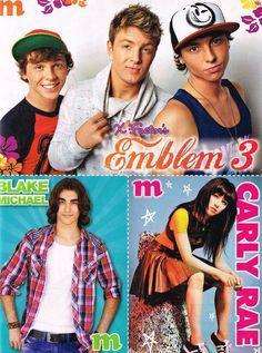 Emblem 3, Blake Michael, Carly Rae Jepsen (M)