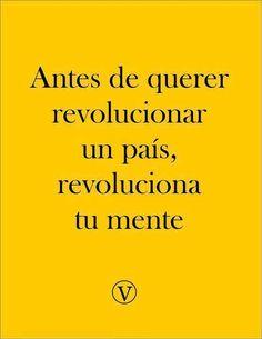 #AntesDe #unPais #revolucion #revolucionaTuMente