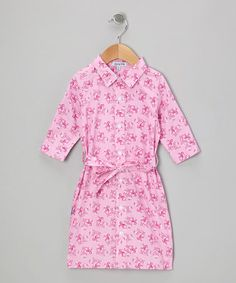 Take a look at this Pink Persian Heart Shirt Dress - Infant, Toddler & Girls by Gypsy Kids on #zulily today!