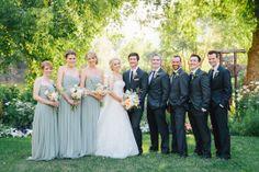 caitlin & tj – log haven wedding » kateosbornephotography.com  Bridal photography at the meadow - August wedding