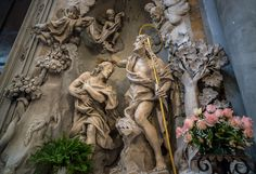 Battesimo di Cristo Old Town, Cathedral, Old Things, The Incredibles, Sculpture, Statue, Art, Christ, Monuments