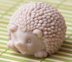 Hedgehog soap CUSTOM you choose color and by ParadiseBodyShop. Gotta get this for Gio. Peugeot 3008, Soap Sculpture, Hedgehog Craft, Decorative Soaps, Soap Supplies, Soap Carving, Best Soap, Soap Packaging, Bathroom Kids