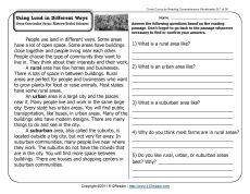Worksheet Communities Worksheets activities worksheets and urban on pinterest