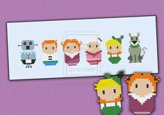 Mini People - The Jetsons by cloudsfactory.deviantart.com on @DeviantArt