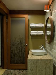 Love The Design At Glen Oaks Big Sur. Would Like To Use The Twig In ·  Bathroom DoorsShower ...