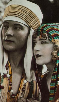 "Rudolph Valentino in ""The Son of the Sheik"" (1926)"
