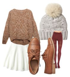 """""""Fall browns"""" by brittany-wilkewitz on Polyvore featuring Woolrich, DKNY, Relaxfeel, SPANX and Gap"""
