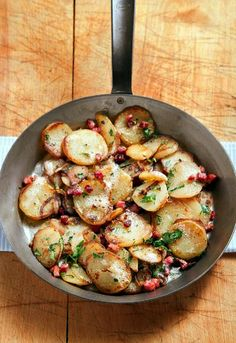 Andouille Cajun Potatoes...I wouldn't use the sausage