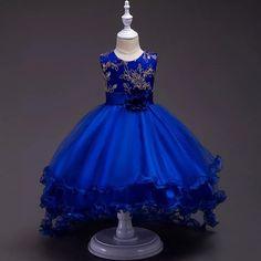 Vestidos De Niñas Color Azul Rey Cv Magazine