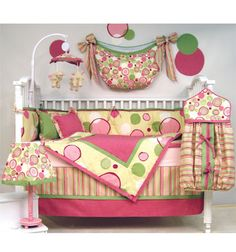 Baby Bed Bedding for Girls http://shannonssewandsew.com is full of baby accessories and bedding