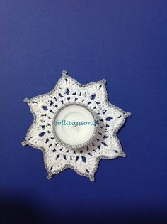 "Follipassioni tutorial crochet: portacandela ""Classic"""