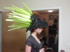 Our new headpiece for a new line of costumes we're working on. This headpiece is going to light up!!
