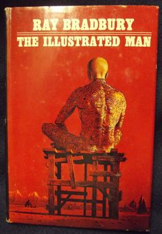 Ray #Bradbury The #Illustrated Man Hardcover #Book Club Edition #Doubleday