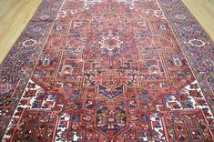 8x111 ft Phenomenal Beauty Collectible Vintage Genuine Semi Antique Persian Heriz Serapi Hand Knotted Wool Area Rug Carpet Home Decor Clean! Very Collectible Magnificent Hard To Find  Authentic Persian Heriz Serapi!  INVHM221 - FEB21/2018  If you have any questions please feel free