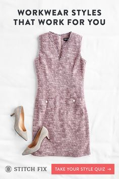 Looking for a new way to shop for women's clothes? Try a Stitch Fix personal stylist and get a box of handpicked clothing sent right to your door. Work Clothes, Clothes For Women, Stitch Fit, Workwear Fashion, Dresses For Work, Summer Dresses, Personal Stylist, Business Casual, Dress Making