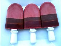 chocolate cherry ZOKU pops