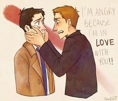Image result for destiel tumblr