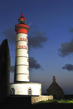 La pointe Saint Mathieu et phare