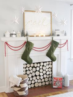 Either is a luxurious home or a humble house, the kitchen plays an extremely important part in… Continue Reading → Christmas Mantels, Christmas Stockings, Christmas Decorations, Holiday Decorating, Humble House, Fireplace Mantels, Luxury Homes, Indoor, Diy
