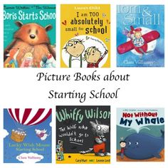Books to prepare children for their first day of school - Story Snug