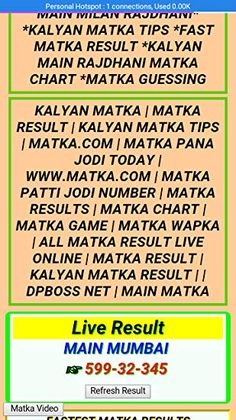 Kalyan Matka Penal Chart Record Patti Panna Bazar Patta Abundant And Chart Kalyan ChartBack To 42 And Chart Kalyan Chart 202016 Rational Kalyan Satta Chart … Lucky Numbers For Lottery, Satta Matka King, Kalyan Tips, Main Mumbai, Number Chart, Today Tips, Tax Refund, Play Online