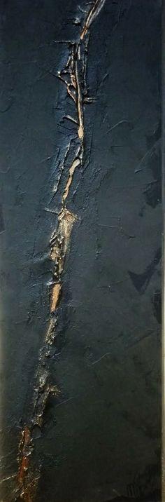 Tableau / Peinture d'art Abstrait Titre : Faille 4 Artiste : Nelly Rozo http://www.nellyrozo.com/