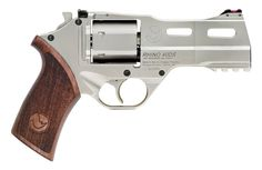 Chiappa Rhino 40DS - Barrel aligned with the 6 o'clock position to better control recoil and accuracy. Sweet.