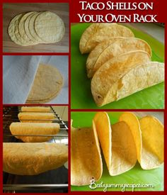 Taco Shells on Your Oven Rack – Food Recipes