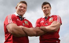 Tom and Ben Youngs. British and Irish Lions 2013: players who have finished season will have Test advantage, says Warren Gatland - Telegraph #rugby #BritishandIrishLions