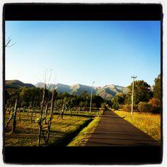 Landscape in Lunigiana