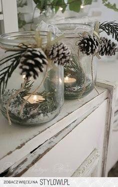 DIY Christmas Mason Jar Candle Luminaries   Holiday Decor   Crafts for Decorating