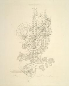 Louis H. Sullivan, System of Architectural Ornament, Plate 26, Impromtu!, 1922-23