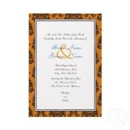 Classic Halloween Vow Renewal Invitation