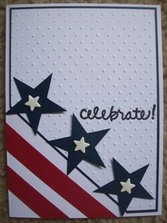 Homemade Greeting Cards, Holiday Greeting Cards, Greeting Cards Handmade, Homemade Cards, Military Cards, Cool Cards, Diy Cards, American Card, Card Sentiments