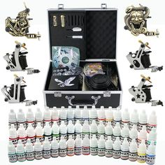 6 Machine Tattoo Kit