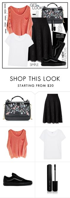 """Simple Casual"" by biange ❤ liked on Polyvore featuring John Lewis, Splendid, Vans and Marc Jacobs"