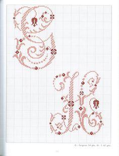 Gallery.ru / Фото #92 - belles lettres au point de croix - moimeme1