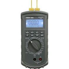 Termómetro Termopar y PT100 HIibok 190A