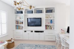Hanging with the Hewitts: Media/Playroom Reveal