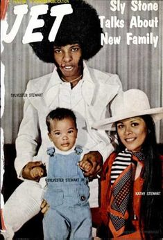 """""""superseventies: Sly Stone and family on the cover of Jet magazine, """" Jet Magazine, Black Magazine, Ebony Magazine Cover, Magazine Covers, Sly Stone, John Johnson, The Family Stone, Vintage Black Glamour, Black Celebrities"""