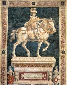 Andrea del Castagno  (1421 -  1457 was een Italiaans kunstschilder uit de Renaissance. Hij werd geïnspireerd door Tommaso Masaccio en Giotto di Bondone. Zijn bekendste werken zijn een schilderij van het laatste avondmaal en een fresco in de Kathedraal van Florence.
