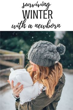 surviving winter with a newborn baby.  Everything you need to know to keep your sanity, get out of the house, keep baby warm, know which stroller gloves to buy for yourself, keep baby safe in car seat.  Baby winter jacket, bunting, mittens.