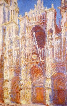Rouen Cethedral the Portal in the Sun 1894 | Claude Monet | Oil Painting #impressionism