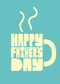 Happy Fathers Day Mug | £2.99 | Your dad probably deserves a cuppa on fathers day, but if you're not there to make one for him, send him this Fathers Day card instead.