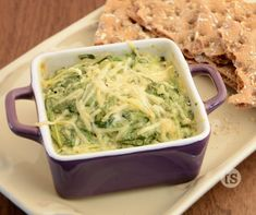 Parmesan Peppercorn Spinach Warm Dip - Fresh spinach and tomato give a little extra flavor to this already delicious dip.