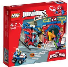 LEGO Juniors - Spider-man Hideout (10687)