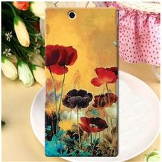 Jimmyboy Smooth Scrub Flowers PC Jimmy Comic Series Hard Case For Sony Xperia Z Ultra