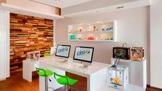 First printing store in Mexico opens doors 3d Printing Store, 3d Printing Business, 3d Printing Service, Funky Wallpaper, Desktop 3d Printer, 3d Printing Technology, Dark Walls, Can Design, Retail Shop